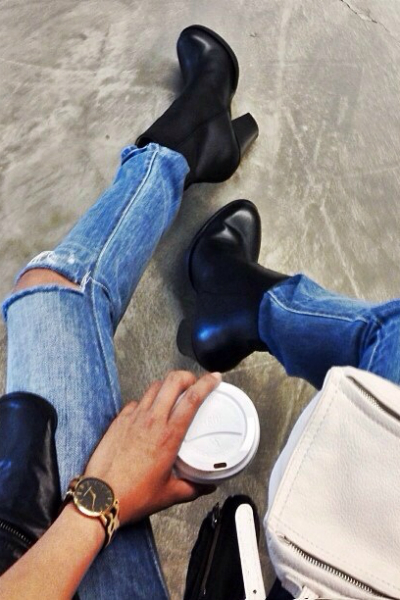 denim and boot