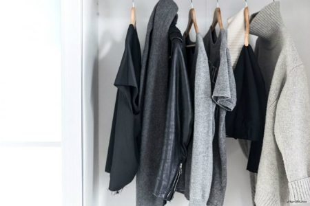 grey closet