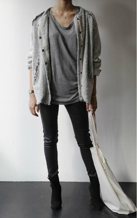 grey upper